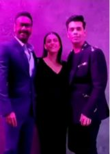 Koffee with Karan 6: Kajol says 'All is well' sharing a photo with Karan and Ajay