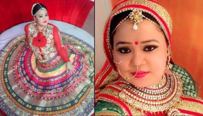 Bharti Will Be a Whole in Red Bride on Her D-day