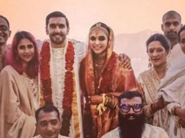 See pic- Ranveer Singh and Deepika Padukone's LATEST wedding photo from Konkani ceremony