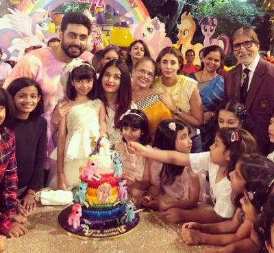 Aishwarya Rai Bachchan shares an adorable family photo which will make you go aww
