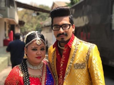 Really, laughter queen Bharti will be wearing his Lehenga on her special day?