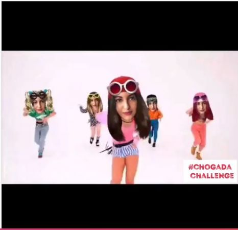 Watch Here is Sonakshi Sinha's Chogada challenge,  Kalank' actress tapes feet on LoveYatri hit song