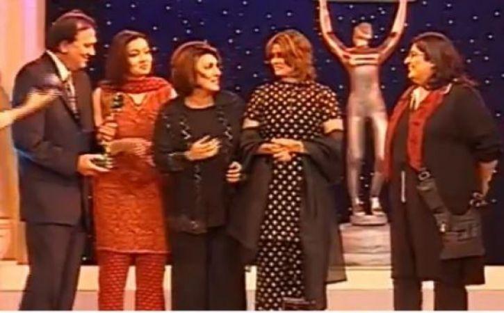 Watch Video: Throwback to 2001 ITA when Tara won the award, Alok Nath went missing