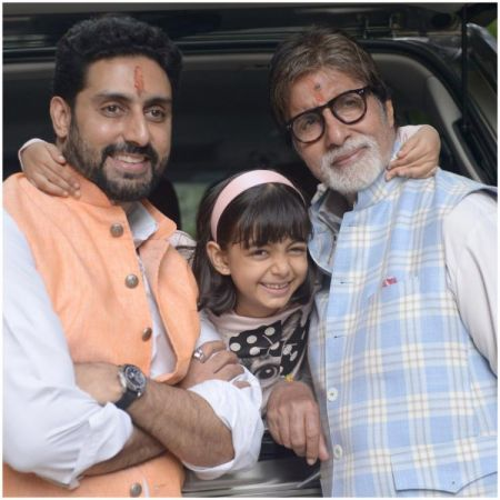 3 generations of Big family : See Amitabh Bachchan shares pic with Abhishek Bachchan and Aaradhya Bachchan