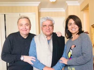 New York Diaries: Rishi Kapoor and Neetu Kapoor thank Javed Akhtar for entertaining them