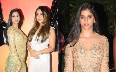 See Pics! Suhana Khan spotted with mother Gouri Khan at Halloween Party