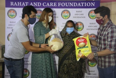 Ak Rahman and his initiative with Rahat and Care foundation which feeds 380 families in this pandemic