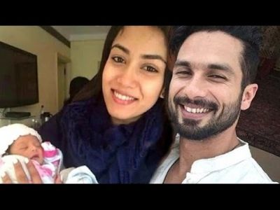 Shahid Kapoor and Mira Rajput blessed with a son as the second child