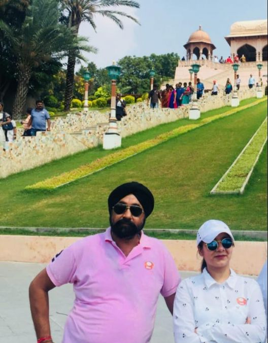 Father and Daughter Duo Amarjeet Gurudatta and Gurleen Gurudatta all set to travel around the world.