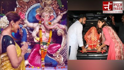 Ganesh Chaturthi 2018: Celebrities celebrate Ganesh Chaturthi and welcomes Bappa with great enthusiasm, see pictures