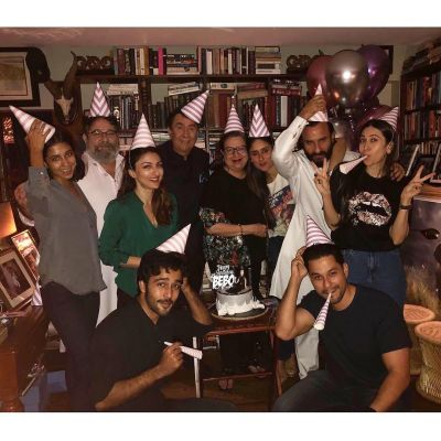 Kareena Kapoor Khan spends  her Birthday eve with family—See  pics