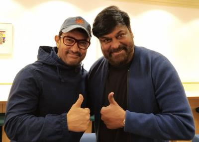 When Mr. Perfectionist bumped into Megastar Chiru