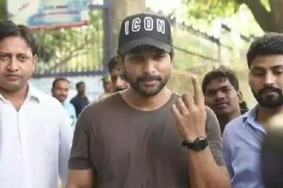 Allu Arjun urges fans to cast the vote for the Lok Sabha election