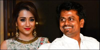 AR Murugadoss to work next on Trisha Krishnan's film?