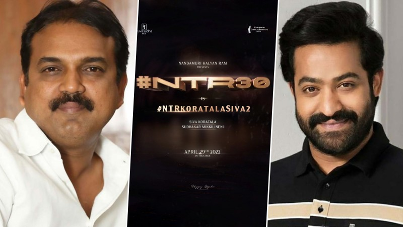 NTR30 : Jr. NTR and Koratala Siva officially confirmed next project  together   NewsTrack English 1