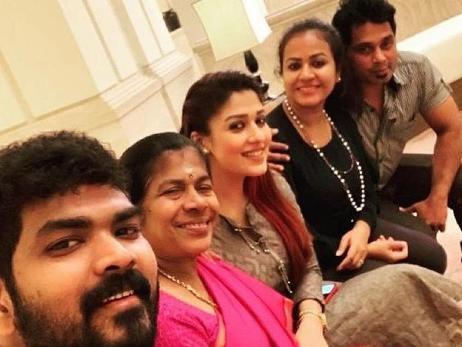 Pic Talk: Nayanthara and Vignesh Sivan spark wedding rumors as they spend time with their families