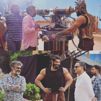 See behind the scene picture of Baahubali:The Conclusion