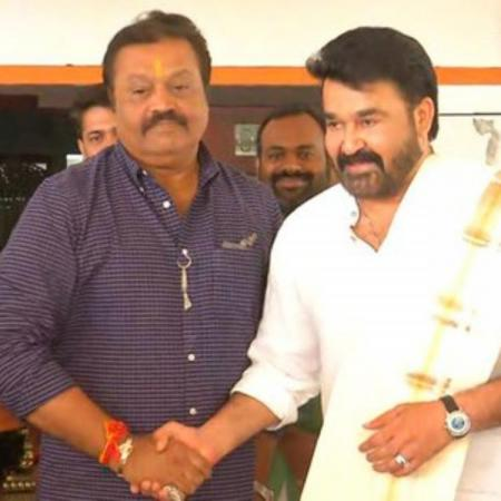 Suresh Gopi visited Mohanlal to seek blessings before the elections