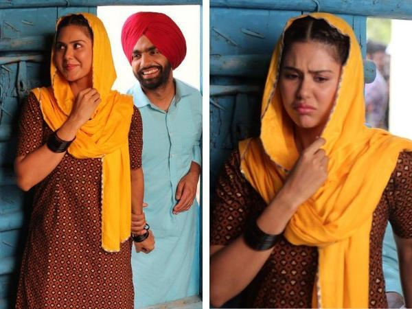 Sonam Bajwa and Ammy Virk's  adorable photos are unmissable