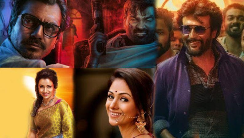SEE PHOTOS Petta Audio Launch: Nawazuddin Siddiqui, Vijay Sethupathi, Trisha Krishnan and Simran share the stage with Rajinikanth