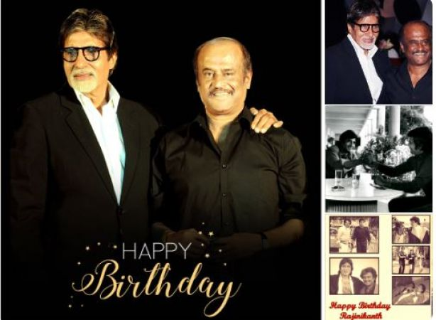 Rajinikanth's 68th Birthday: Amitabh Bachchan,Kamal Haasan and Mahesh Babu wish Thalaiva