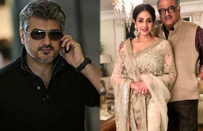 In Pink Tamil remake, Boney Kapoor as per Sridevi's wish signs Ajith  under his production