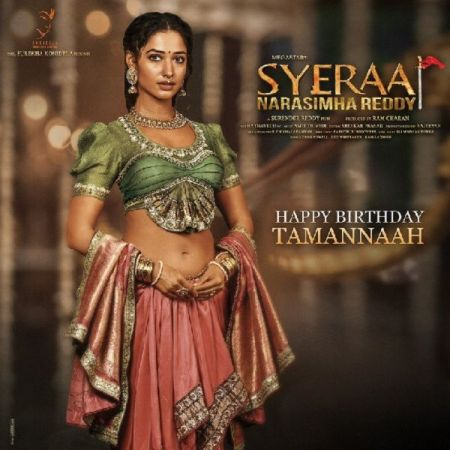 Sye Raa Narasimha Reddy poster out, Check out  the beautiful and elegant Lakshmi on her birthday