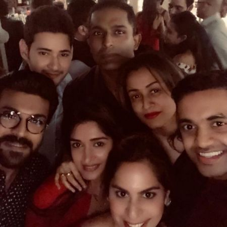 PHOTOS - On Christmas 2018 Mahesh Babu, Ram Charan and many other  celebs  enjoy together
