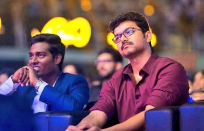 Thalapathy Vijay and Atlee to come together for the third time, Vijay to play a football coach
