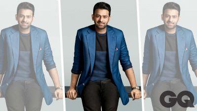 Gentleman Looks Of Prabhas on the Cover of GQ India Magazine