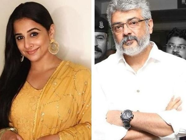 Amitabh Bachchan starrer Pink remake confirmed : Vidya Balan, Ajith to share screen on the Tamil version