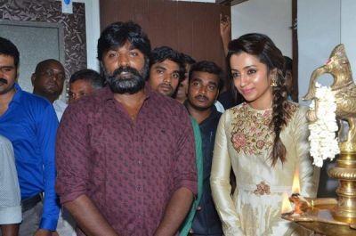 Vijay Setupati to praise Co-Star Trisha for her dedication towards work