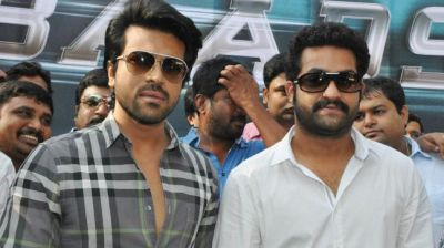 A new bond in making: Ram Charan and Jr NTR  hanging out together