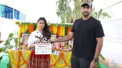 Tollywood actress Shriya saran back to work after marriage