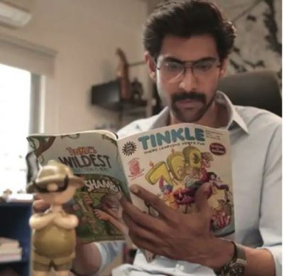 Rana Daggubati introduces Amar Chitra Katha learning centre