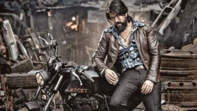 Yash's KGF team share a poster on successful completion 100 days at BO
