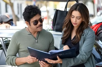 Manmadhudu 2 team wrapped up Portugal schedule