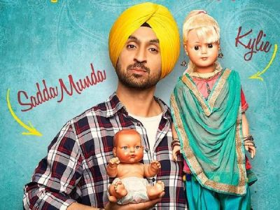 Diljit Dosanjh unveils the first look poster of his next Shadaa and it has a Kylie connection