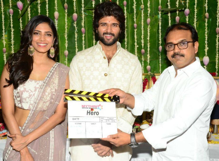 Malavika Mohanan pairs up with Vijay Deverakonda