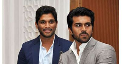 Are Ram Charan and Allu Arjun not on talking terms?