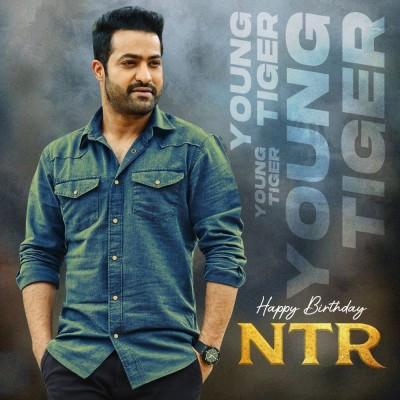 Young Tiger Jr NTR celebrating his Birthday, #NTR30 team send wishes