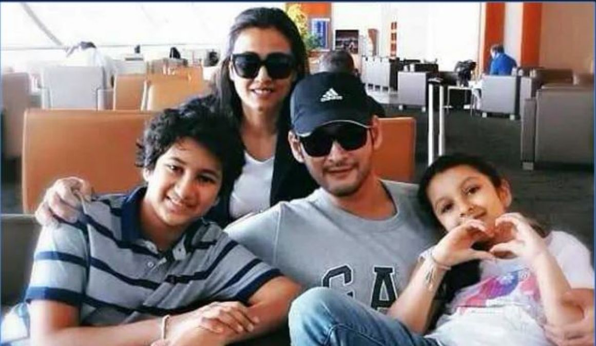 Mahesh Babu on another long vacation with family
