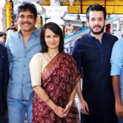Nagarjuna launches son Akhil Akkineni's fourth film in a grand event