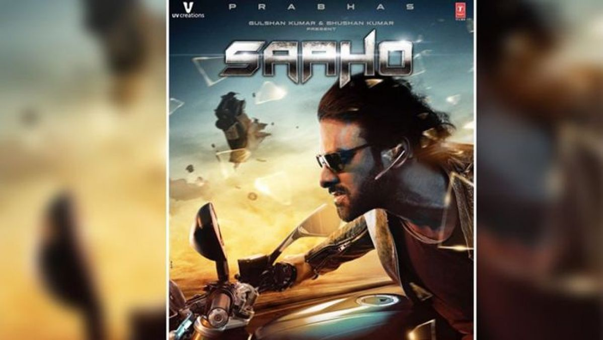 Baahubali Prabhas' Saaho second poster out