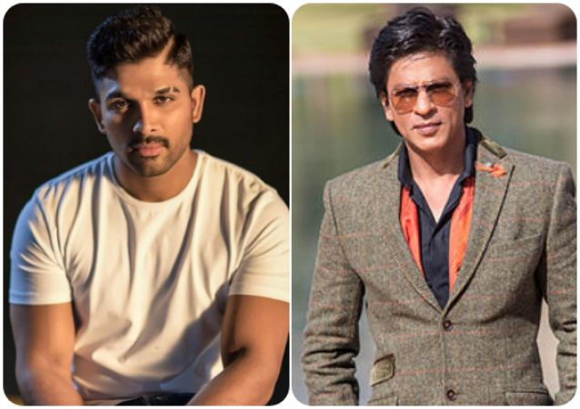Allu Arjun is the heart core fan of Shah Rukh Khan and This Instagram post is a proof