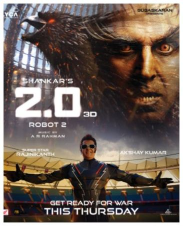 Akshay Kumar and Rajinikanth's 2.0 witnesses record-breaking advance booking in Pakistan