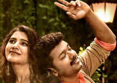 Mersal promo: Vijay's romance with Samantha Ruth Prabhu and Kajal Aggarwal is ruling in the Tollywood