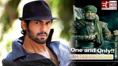 Rana Daggubati has something special to say about  Amitabh Bachchan's Thugs of Hindostan look