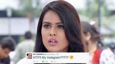 Instagram account of Nia Sharma has been hacked