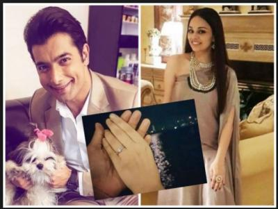 TV actor Sharad Malhotra and Ripci Bhatia's Wedding invitation card is out; It has Snack inside